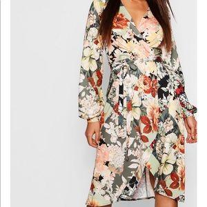 Multi color mini maxi dress
